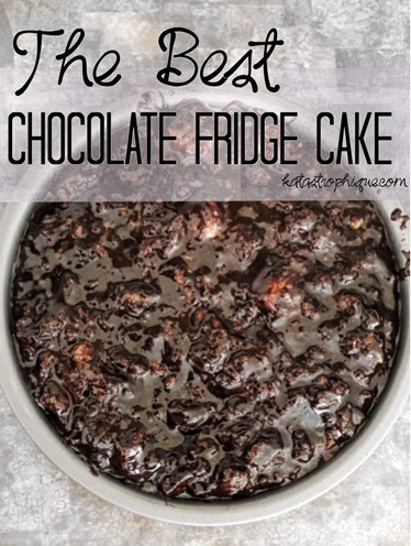 The Best Chocolate Fridge Cake   katastrophique